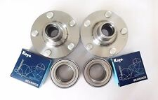 2 OEM KOYO Front Wheel Bearing & 2 Hub Set For Toyota Corolla / Celica / Matrix