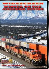 WINTER ON THE ARIZONA DIVIDE HIGHBALL PRODUCTIONS DVD-R BNSF TRANSCON LINE