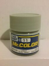 Gunze Sangyo/Mr Color acrylic paint C-11 Light gull grey 10ml.
