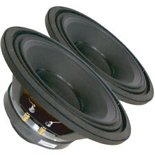 "Pair Radian 5210 2-Way Coaxial Fullrange Speaker 10"" 16 ohm 375 W Replacement"