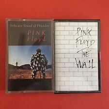 PINK FLOYD Lot of 2 The Wall, Delicate Sound of Thunder Cassette Tape