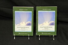 """""""Great World Religions"""" HINDUISM & CHRISTIANITY Set, DVD's & Guidebooks, 2003"""