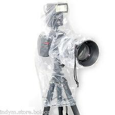 Rain cover per Nikon D3200 D3100 D5200 D5100 con FLASH protezione pioggia acqua