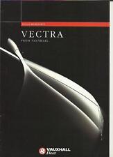 VAUXHALL VECTRA RANGE (FLEET CARS) SALES BROCHURE  OCTOBER 1995