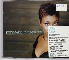 (BU425) Beverley Knight, Made It Back '99 - DJ CD