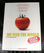 We Feed the World - Essen Global DVD - Ausgabe im seltenen Pappschuber!