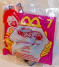 Hot Wheels Toy Race Car Blue #44 NASCAR 1998 McDonald's Happy Meal #7 Sealed