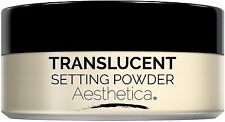 Aesthetica Translucent Loose Setting Powder - Talc Free Finishing Powder