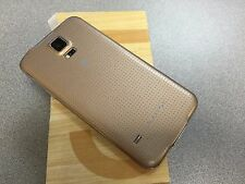 Unlocked Samsung Galaxy S5 SM-G900A 16GB - Copper Gold (AT&T) Excellent Cosmetic