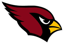 "Arizona Cardinals NFL Sticker Decal indoor - outdoor - car-  truck - 3.5""x5.5"""
