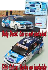 Decal 1:43 Ricardo Moura - MITSUBISHI LANCER EVO IX - Rally Islas Canarias 2012