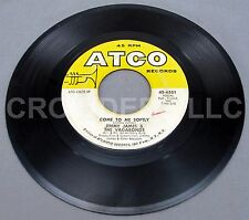 Jimmy James & Vagabonds ATCO 45 RPM Hi-Diddly Dee Dum Dum & Come To Me Softly