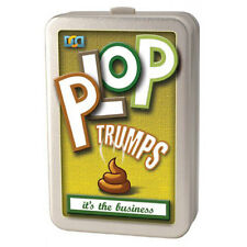 Plop Trumps Top Animal Poo Card Game Novelty Gift Kids/Adult Fun Stocking Filler