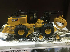 RARE - Caterpillar Cat 555D Wheel Skidder 1:50 DieCast Model By DM - New #85932