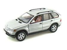 1:18 Diecast BMW X5 model Car In Silver From Motormax (73105S)