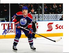 EDMONTON OILERS MARK FISTRIC SIGNED HEADS UP 8X10