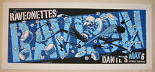 2005 The Raveonettes - Portland Silkscreen Concert Poster by Guy Burwell