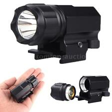 Tactical P05 Flashlight XPG-R5 2 Modes 600lumen with QD Rail Mount Nice T8D1