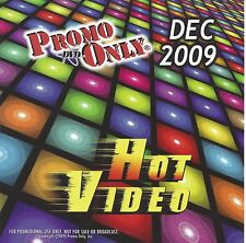 PROMO ONLY- New, DVD HOT VIDEO DEC.-2009,Britney Spears,Justin Bieber,Pink,Creed