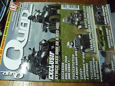 µ? Revue  Quad Passion n°130 Kymco MxU 5001 Can-Am Outlander max 800 R Polaris..
