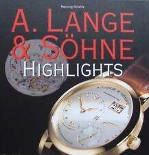 LIVRE : A. LANGE & SÖHNE WATCH/MONTRE