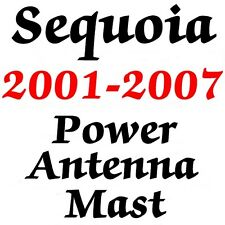 Toyota SEQUOIA POWER ANTENNA MAST 2001-2007 STAINLESS STEEL