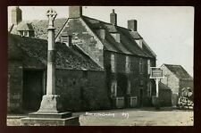 Northamptonshire Northants ROCKINGHAM Sondes Arms 1928 RP PPC