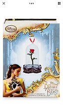 DISNEY BEAUTY AND THE BEAST LIVE ACTION FILM LIGHT UP ENCHANTED ROSE ORNAMENT