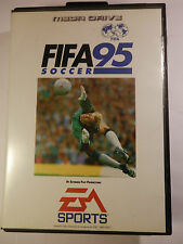 SEGA FIFA SOCCER 95 GENESIS SYSTEM BOX GAME + MANUAL