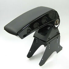Black Leather Armrest Console For Ford Fiesta Focus Mondeo