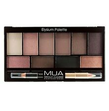 MUA ELYSIUM Eyeshadow Palette & Eyeliner With Waterline Nude Liner Naked Neutral