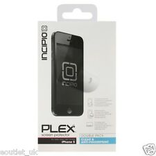 Clear/Anti Fingerprint Screen Protector For iPhone 5 5s SE 2 Pack Incipio RRP £8