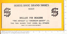 7260 Arnold, Henegar, Doyle Horse Shoe Shoes 1910 cover Knoxville TN dollar sign