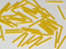 LEGO LOT OF 50 NEW YELLOW STAR WARS LIGHTSABER BLADES 4L BARS WANDS PIECES
