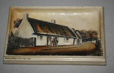 Vintage Ivorex Plaque Osborne Burns' Cottage-Alloway-Ayr England