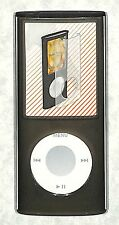 Griffin Black FlexScreen Skin Hard Clear Cover for iPod nano 4th Generation