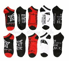 New American Horror Story Coven No-Show Ankle Socks 5 (Pr) Pair Low Cut