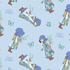HOLLY HOBBIE TOSSED ON PAISLEY BLUE #4455 COTTON SEW 25362 BTY SPECTRIX FABRIC