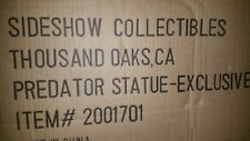 New Sideshow EXCLUSIVE Original'87 1987 1st PREDATOR Figure STATUE Limited 750