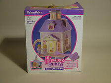 PRECIOUS PLACES SILVER BELLS WEDDING CHAPEL # 5151 INCOMPLETE 1988 NEAR MINT