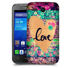 CUSTODIA COVER per HUAWEI  ASCEND Y520 TPU BACK CASE LOVE VINTAGE