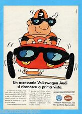 QUATTROR990-PUBBLICITA'/ADVERTISING-1990- VOLKSWAGEN AUDI - ACCESSORI