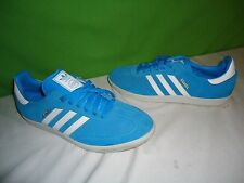 Adidas 2013 Samba aqua blue mens size 10 shoes suede