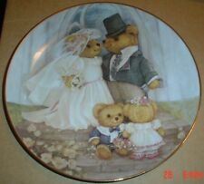 Franklin Mint Collectors Plate JUST MARRIED