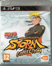 NARUTO: ULTIMATE NINJA STORM - COLLECTION - 3x GAMES PS3 ~ NEW / SEALED