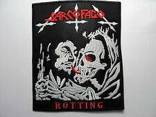 SARCOFAGO     EMBROIDERED PATCH