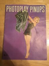1953 Photoplay Pinups No. 4 Hollywood Marilyn Monroe Cover Rita Hayworth book