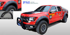 2010-2014 Ford F-150 RAPTOR Fender Flares POCKET RIVET Style PAINTABLE Fsh 4pcs