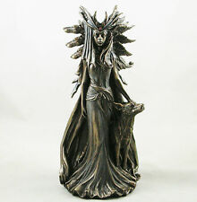 GREEK GODDESS HEKATE GODDESS OF MAGIC FIGURINE BRONZED HECATE STATUE - 24cm NEW