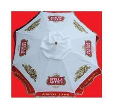 STELLA ARTOIS ANNO 1366 LEUVEN BELGIUM BEER PATIO UMBRELLA MARKET STYLE NEW HUGE